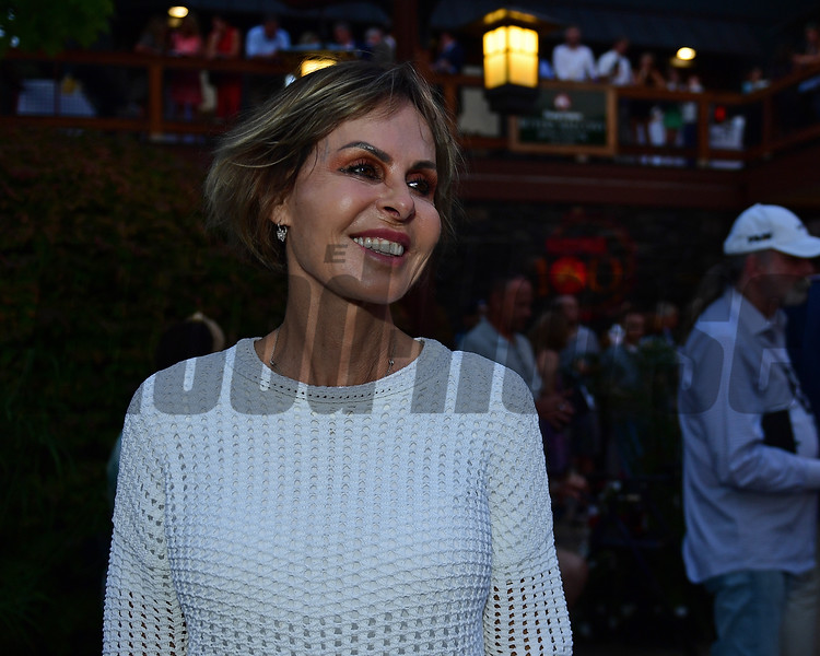 Becky Thomas<br /> Sales scenes at Fasig-Tipton in Saratoga Springs, N.Y. on Aug. 9, 2021.