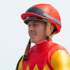 Dylan Davis on Ruse in the 4th race.<br /> Saratoga racing scenes at Saratoga in Saratoga Springs, N.Y. on Aug. 7, 2021.