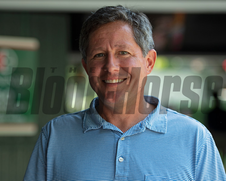 Brian Graves<br /> Saratoga training and sales scenes at Saratoga Oklahoma track and Fasig-Tipton in Saratoga Springs, N.Y. on Aug. 6, 2021.