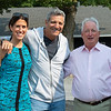 (L-R): Anna Ciannello, Mike Dubb, Boyd Browning<br /> Saratoga training and sales scenes at Saratoga Oklahoma track and Fasig-Tipton in Saratoga Springs, N.Y. on Aug. 6, 2021.
