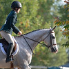 Emilie Figgins and #48 Blazin Luck at <br /> Thoroughbred Makeover at the Kentucky Horse Park.