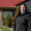 Jackie O'Rourke, Margaux broodmare manager, at Margaux near Midway, Ky., on Dec. 18, 2020.