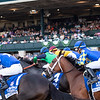 Juju's Map with Florent Geroux wins the Darley Alcibiades (G1) at Keeneland in Lexington, KY. on Oct. 8, 2021.