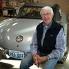 sitting on his other horsepower, a 1960 Sateen Silver Corvette<br /> John Williams at Spendthrift Farm near Lexington, Ky., and at his home near Versailles, Ky. on November 18, 2020.