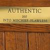 Authentic stall plaque at Spendthrift Farm near Lexington, Ky., on Dec. 9, 2020.