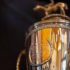 Super Saver's Kentucky Derby trophy<br /> Kentucky Derby trophies for Super Saver and Triple Crown winner Justify at WinStar Farm on March 5, 2021.