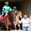 Raging Bull with Irad Ortiz Jr. wins the Makers Mark Mile (G1)<br /> at Keeneland near Lexington, Ky., on April 9, 2021.