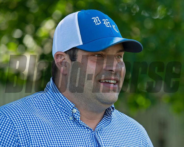 Brad Cox<br /> Saratoga racing scenes in Saratoga Springs, N.Y. on Aug. 5, 2021.