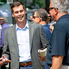 Joseph Migliore at Saratoga Race Course in Saratoga Springs, N.Y., on Aug. 28, 2021.