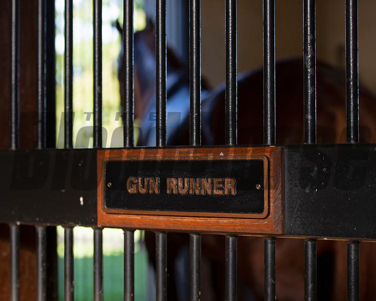 Gun Runner at Three Chimneys on Sept. 9, 2021.