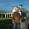 by Nashua statue done by artist Liza Todd<br /> John Williams at Spendthrift Farm near Lexington, Ky., and at his home near Versailles, Ky. on November 18, 2020.
