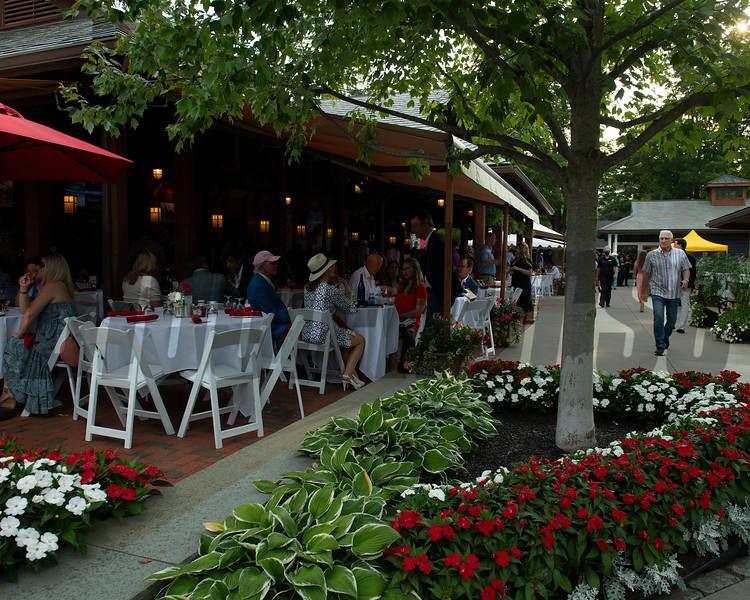 Sales scenes at Fasig-Tipton in Saratoga Springs, N.Y. on Aug. 10, 2021.