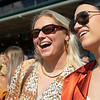 Fans during a race<br />  at Keeneland on Oct. 8, 2021.