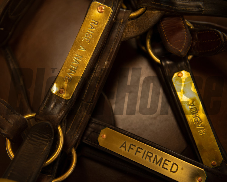Halter collection of Raise a Native, Affirmed, and Nashua<br /> John Williams at Spendthrift Farm near Lexington, Ky., and at his home near Versailles, Ky. on November 18, 2020.