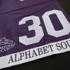 Marking his 30th birthday with a commemorative  Breeders' Cup saddle towel.<br /> Alphabet Soup with his constant companion Gorgeous George celebrates his 30th birthday at Old Friends near Georgetown, Ky., on March 30, 2021.