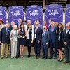 Connections of Battle of Midway after winning the Breeders Cup Dirt Mile on November 3, 2017. Photo by Anne Eberhardt.