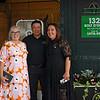 (L-R): Dede McGee, Hector Perez, Rita Riccelli<br /> Sales scenes at Fasig-Tipton in Saratoga Springs, N.Y. on Aug. 10, 2021.