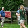 Boyd Browning looking at horses.<br /> Scenes, people and horses at The July Sale at Fasig-Tipton near Lexington, Ky. on July 10, 2021.