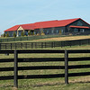 New broodmare barn at Jim and Susan Hill's Margaux Farm near Midway, Ky., on Dec. 8, 2020.