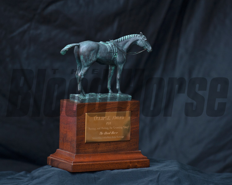 Eclipse Award images near Versailles, Ky., on Jan. 1, 2021.