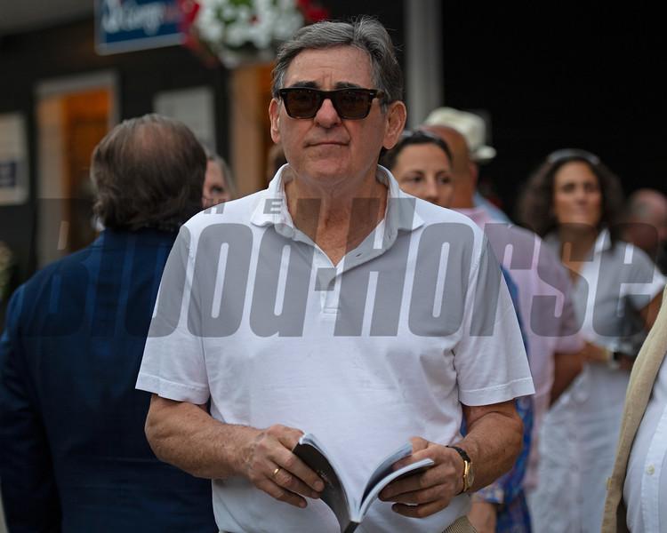 Peter Brant<br /> Sales scenes at Fasig-Tipton in Saratoga Springs, N.Y. on Aug. 9, 2021.