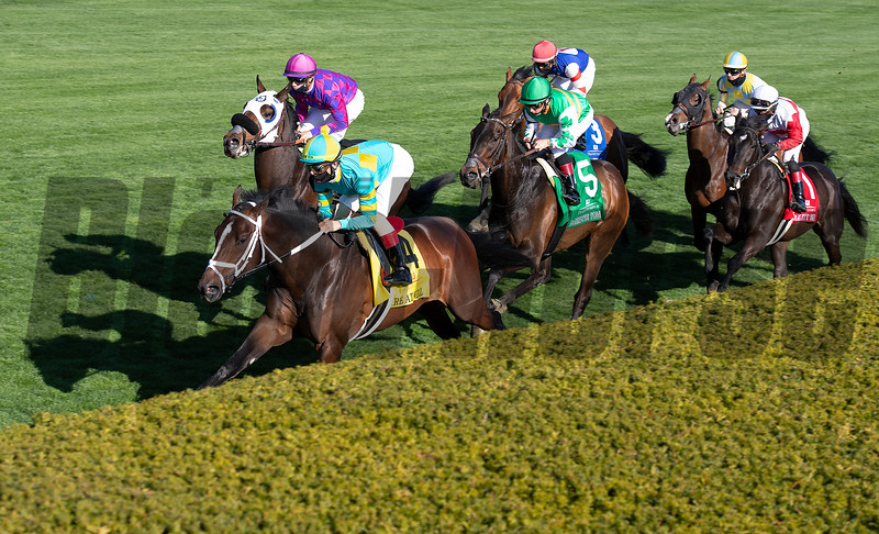 first time by: Scarlett Sky with Joel Rosario wins the Kentucky Utilities Transylvania (G3T)<br /> at Keeneland near Lexington, Ky., on April 2, 2021.