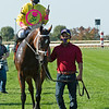 Aunt Pearl with Florent Geroux wins the JP Morgan Chase Jessamine (G2) at Keeneland on October 3, 2020.