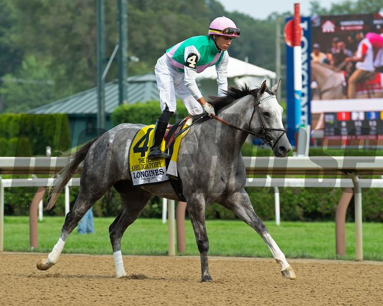 Obligatory<br /> Saratoga racing scenes at Saratoga in Saratoga Springs, N.Y. on Aug. 7, 2021.