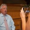 Boyd Browning on iphone recording while talking to media<br /> Scenes, people and horses at The July Sale at Fasig-Tipton near Lexington, Ky. on July 13, 2021.