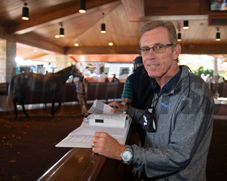 Dan Hall<br /> Sales horses at the Keeneland November Sale at Keeneland in Lexington, Ky. on November 10, 2020.