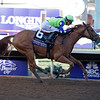 Good Magic wins the Breeders Cup Juvenile on November 4, 2017. Photo by Anne Eberhardt.