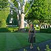 Caption: paddock, near the sycamore tree.<br /> Shannon Arvin at Keeneland near Lexington, Ky. on Aug. 3, 2020 Keeneland in Lexington, KY.