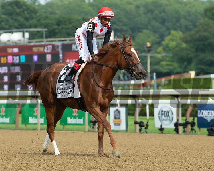 Souper Sensational<br /> Saratoga racing scenes at Saratoga in Saratoga Springs, N.Y. on Aug. 7, 2021.