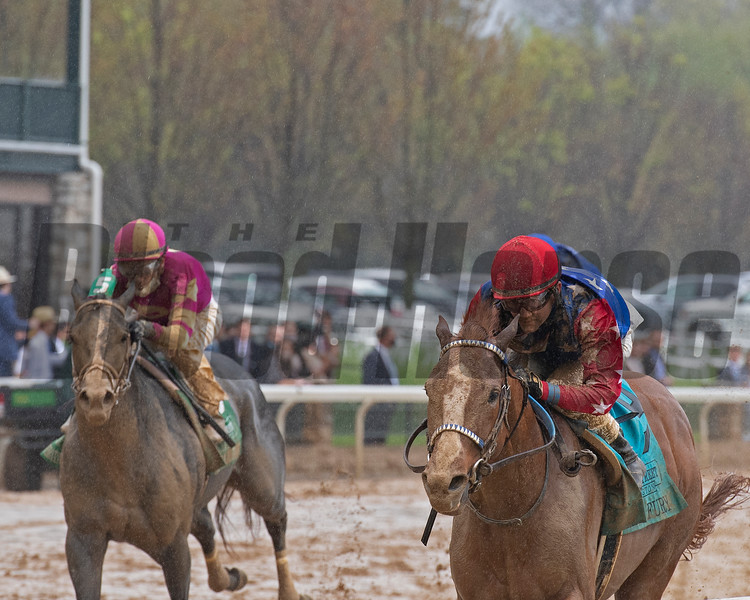 King Fury with Brian Hernandez Jr. wins the Stonestreet Lexington (G3)<br /> at Keeneland near Lexington, Ky., on April 10, 2021.