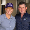(L-R): Liz Crow and Brad Weisbord with ELiTE Sales<br /> Sales horses at The November Sale at Fasig-Tipton Kentucky in Lexington, Ky. on November 8, 2020.