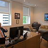 Caption: Watching Ascot races and Queen Anne Stakes (G1) with friends via Zoom on computer. Friends had an interest in a horse that ran well in the Win and You're In challenge race for the Breeders' Cup Mile (G1). Note: Delay on TV while actual race and finish on computer screen. <br /> Breeders' Cup CEO and President Drew Fleming in the Breeders' Cup office in downtown Lexington, Ky., on June 16, 2020 Drew Fleming in Lexington, KY.