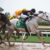 Silver Dust with Adam Beachizza wins the Ben Ali (G30<br /> at Keeneland near Lexington, Ky., on April 10, 2021.