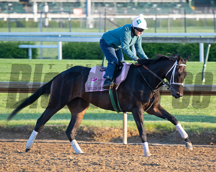 Will's Secret<br /> Kentucky Derby and Oaks horses, people and scenes at Churchill Downs in Louisville, Ky., on April 26, 2021.