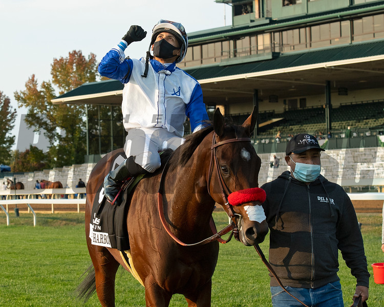 Venetian Harbor with Manny Franco won the Lexus Raven Run (G2)  at Keeneland on October 3, 2020.