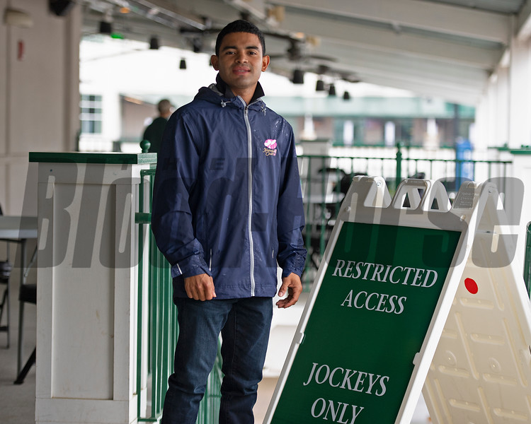 Luis Saez<br /> Kentucky Derby and Oaks horses, people and scenes at Churchill Downs in Louisville, Ky., on April 24, 2021.
