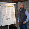 General manager Richard Budge in his office at Jim and Susan Hill's Margaux Farm near Midway, Ky., on Dec. 8, 2020.