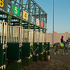 Enforceable with David Carroll has a practise session at the new starting gate Kentucky Derby and Oaks training at Churchill Downs near Louisville, Ky., on Aug. 30, 2020 Churchill Downs in Louisville, KY. Photo: Anne M. Eberhardt