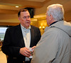 Ed Martin talking with attendee at seminar. RCI seminar and Morning works and scenes at Keeneland in Lexington, Ky., on April 3, 2016. plus farm scenes.