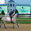 Dream Marie at Churchill Downs Monday, Aug. 31, 2020. Photo: Anne M. Eberhardt