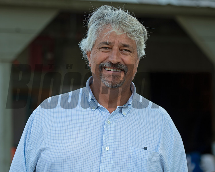 Steve Asmussen<br /> Saratoga training and sales scenes at Saratoga Oklahoma track and Fasig-Tipton in Saratoga Springs, N.Y. on Aug. 6, 2021.
