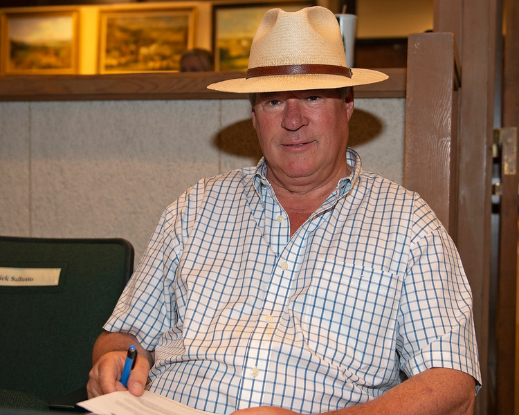 Michael Hernon<br /> at the Keeneland September sale