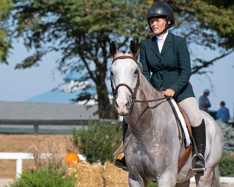 #48 Blazin Luck and Emilie Figgins at<br /> Thoroughbred Makeover at the Kentucky Horse Park.