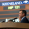 Scott Hazelton<br /> at the Keeneland September Sale.