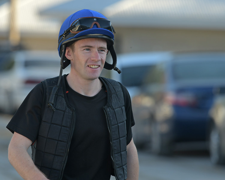 Declan Cannon<br /> at Keeneland.