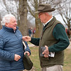 (L-R): Gerry Dilger, Ryan Mahan. As a buyer as well as consignor, Dilger chatted with Ryan Mahan while looking at stock. Scenes during the Keeneland January sales on Jan. 11, 2020 Keeneland in Lexington, KY.